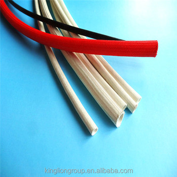 supper insulation silicone fiberglass sleeves for motor
