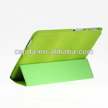 elegant triple folds PU case for Kindle Fire HDX 8.9 with various color available