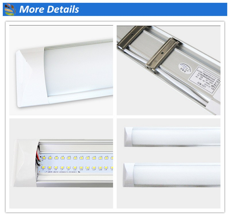 2016 china manufacture internal driver 6500k 4ft led batten light for housing linear lighting led