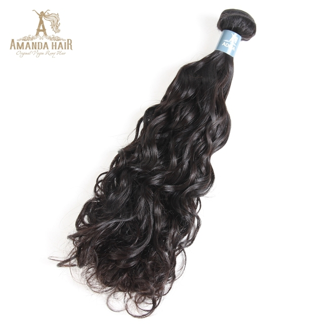Virgin Remy Hair Brazilian Water Wave Bundles Indian Human Hair Weaves Wet and Wavy Natural Wave Weft