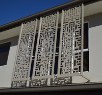 Customized Decorative Laser Cut Panels/laser cut outdoor metal screen