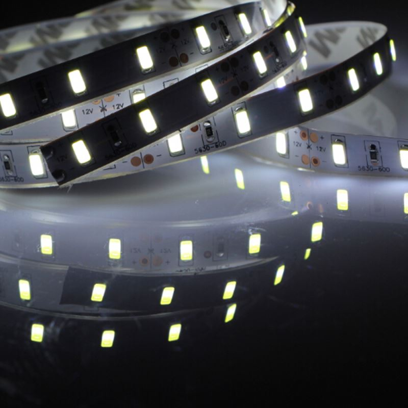 CE RoHS 12V 60leds Waterproof Flexible SMD 5050 LED Strips Tape Rope Ribbon Band Lights