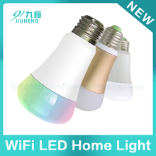 Color changeable smart home deveices suppliers smart led light bulb