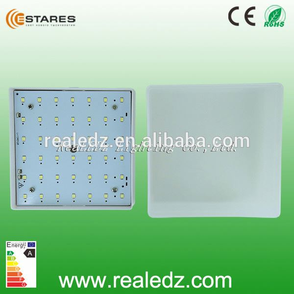 5w 2x2 square zigbee wreless cct adjustable led ceiling mount light