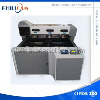 260W co2 mixed laser cutting machine popular philicam