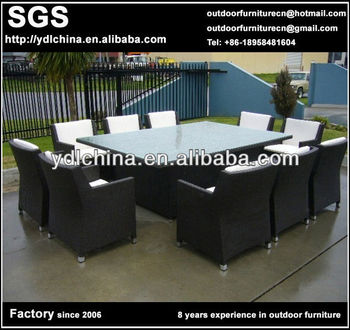 patio furniture wicker rattan dining set