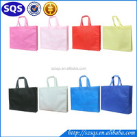 Non-woven Reusable Kids Carrying Tote Grocery Shopping Bag for Party