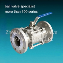WB-85 3pc flange type Ball Valve PN16/PN40 / DIN Flanged Ball Valve /Flanged Ball Valve