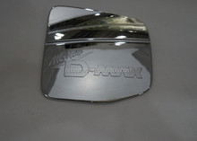 Hot model 2012 D-max chrome fuel tank cover