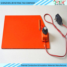 Flexible And Waterproof 5V 12V Electric Heating Element Silicone Rubber Heater Silicone Car Heating Pad
