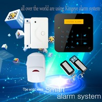 2016 New fashion A9 gsm alarm wireless 30 zones home security motion sensor alarm with infrared remote
