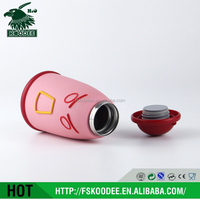 you can choose color children to use vacuum Stainless steel belt filter - insulated Water Bottle lovely and cute with handle