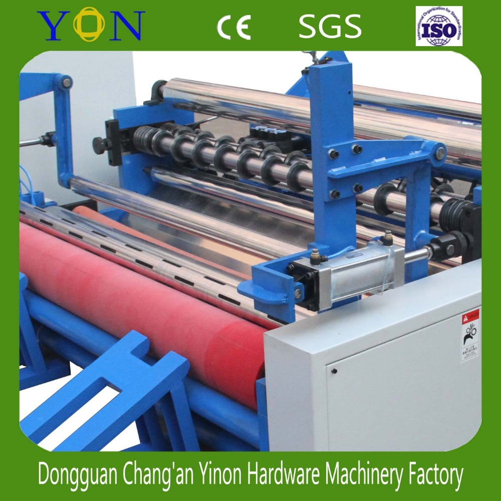 Paper Roll Rewinding Machine High Speed Slitting Rewinder Machine For Making Small Roll From Big Roll