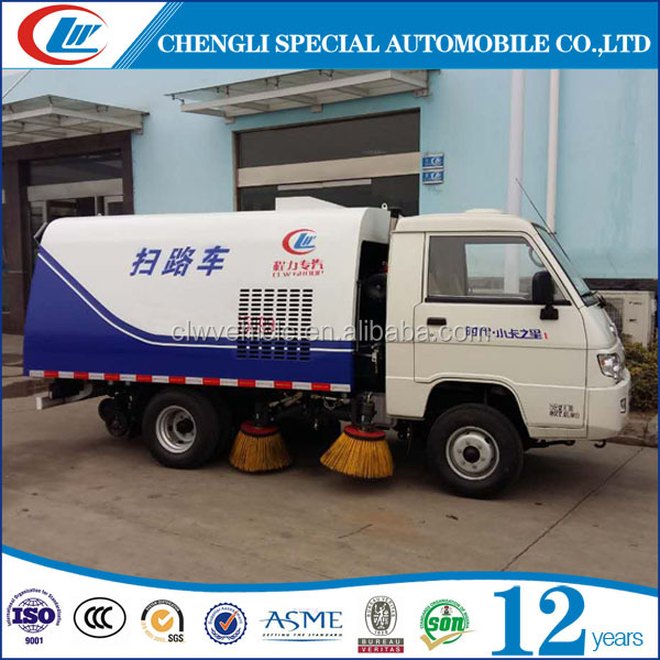 Mini road sweeper New road sweeper 4X2 Vacuum road sweeper for sale