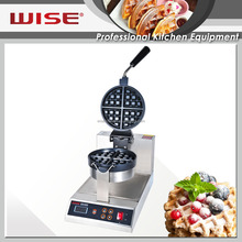 Commercial Intelligent Digital Cast Iron Thick Waffle Baker for Coffee Shop