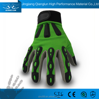 QL tpr mechanic synthetic leather knife glove