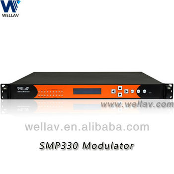 SMP330 24 In 1 Audio Video RF Modulator With Powerful MUX Function.