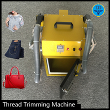 Shoe making machine thread sucking cutting machine & sewing machine table stand