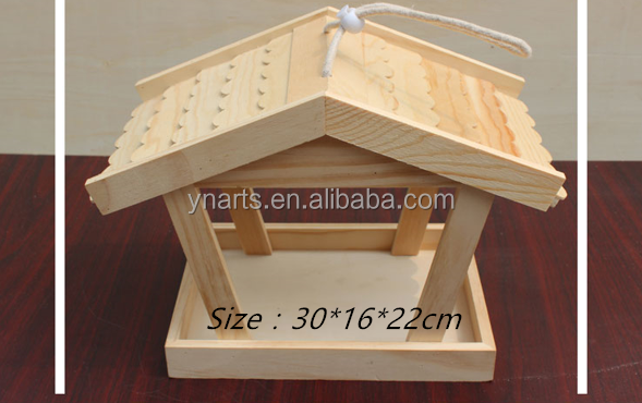 Best price of wooden bird nest made in China