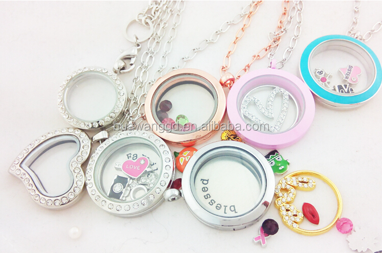 Cheap memory locket pendant