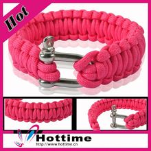 10 Years Experience Team Logo Paracord Bracelet