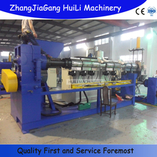 PE PP flake HDPE cold strand Pelletizing Line