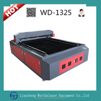 WD1325 two heads, plywood,cloth,MDF,arcylic 130W 1325 CO2 laser cutting machine/laser engraving and cutting machine