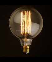 Antique Edison G80 globe light bulb E27/E26/B22 40W/60W 110-130V / 220V-240V CE ROHS