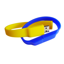 promotional product silicone usb bracelet bulk 1gb usb flash drives with high speed flash
