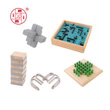 3d wooden puzzle educational games board set gift toys