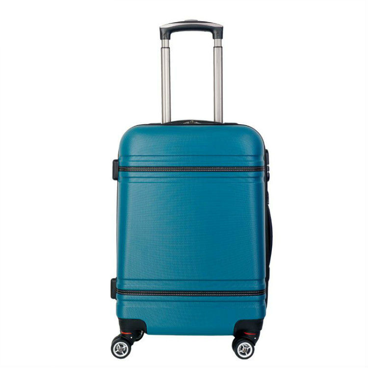 KS001A Best Selling Popular Design Competitive Price Light Weight Hard shell <strong>Abs</strong> Luggage Sets