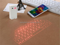 Tablet Application and Rubber Keypad Button Material bluetooth laser keyboard for smart phone