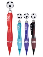 shape ball pen with foot ball 761