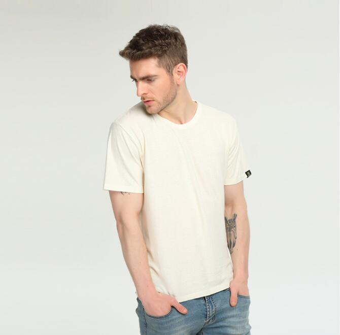 Wholesale organic hemp / organic cotton t shirt
