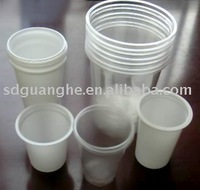 16oz PET transparent disposable drinking cup(FDA/SGS certificate)