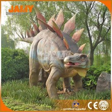 Prehistoric Dinosaur Model Robotic Stegosaurus Dinosaur for Theme Park