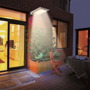 CY20 Waterproof 46 LED Security Solar Powered Light PIR Motion Sensor Light Wall Lamp for Path Stairs Garden Outdoor