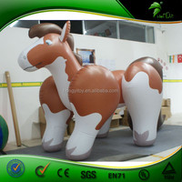 2015 Large soft rubber Inflatable Animals - Jumping Horse