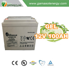 Gama Solar front terminal back up 2v 3000ah gel battery price in Italy