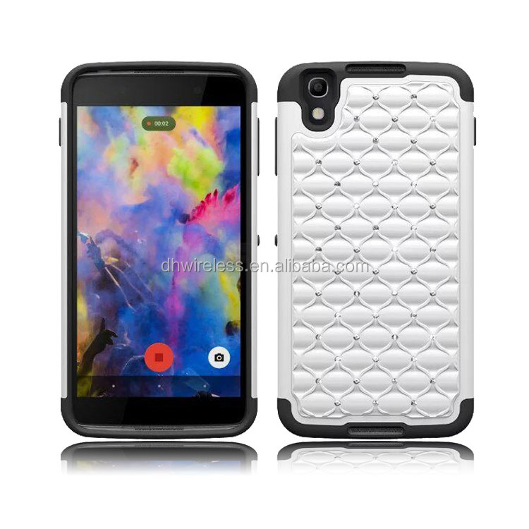 rhinestone case for blackberry DTEK50,pc silicone cover for blackberry DETK50