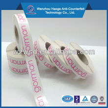 Super strong heat transfer waterproof name stickers write and iron on cloth label