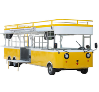 China exporting Factory price mobile street snack food trailer/modern kitchens catering food truck