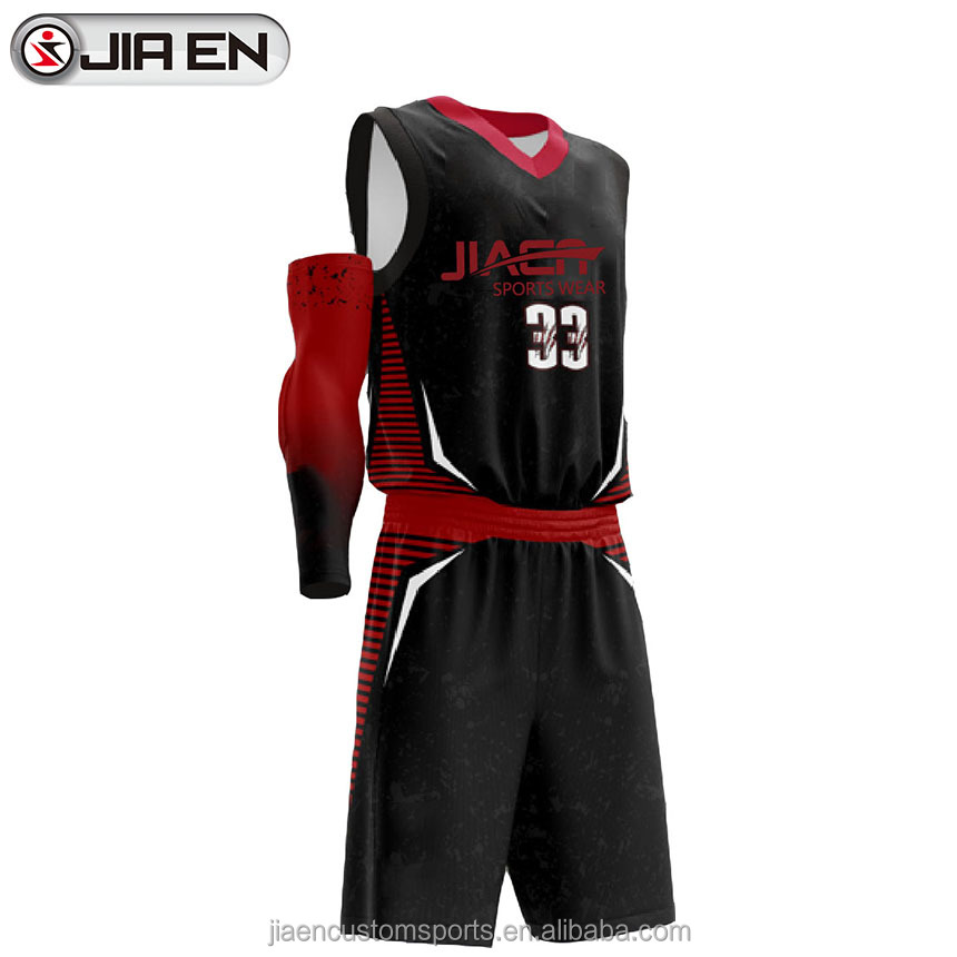 Wholesale blank college basketball uniform designs latest custom japan basketball jerseys