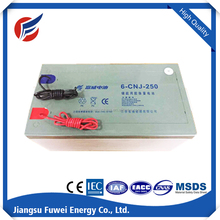 free AGM battery solar 12V 250Ah deep cycle battery for street light