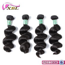 XBL Best Selling Unprocessed Virgin Human Wholesale 100% Indian Virgin Hair Bulk
