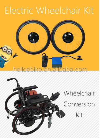 green power 24V 180W electric wheelchair hub motor kit for disabled