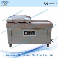 DZ-400/2SB Automatic double chamber Squid vacuum packing machine vacuum sealer