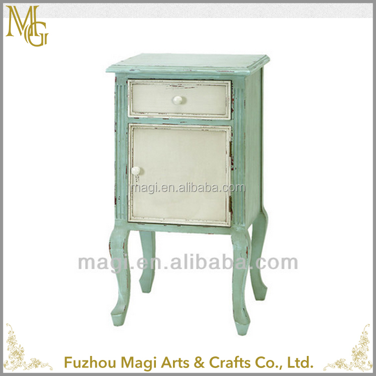 French vintage furniture drawing room wooden cabinet designs