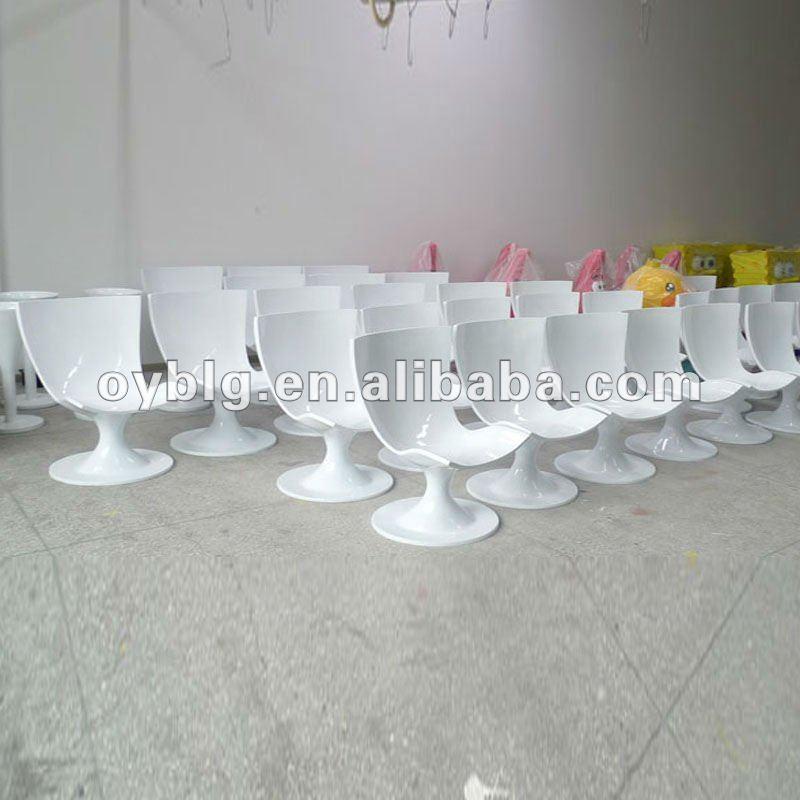 Fibra de vidrio frp sillas tulip n silla de comedor - Muebles de fibra de vidrio ...