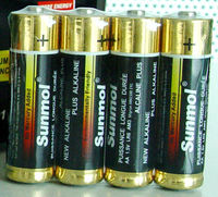 sunmol AA alkaline battery cells